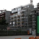 Bauarbeiten Fassade