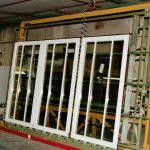 große Sprossenfenster