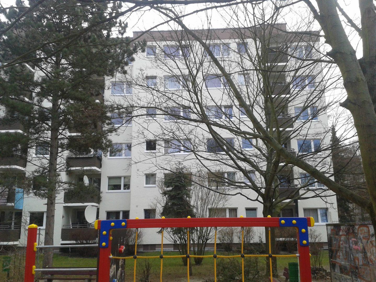 Fassade Hochhaus